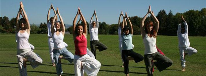 Group yoga class wagga Divine Wellbeing